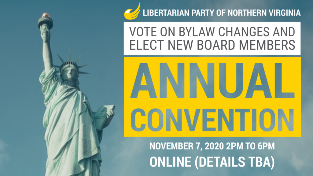 LPNOVA's Annual Convention, November 7 2020. Online. Details to be announced.